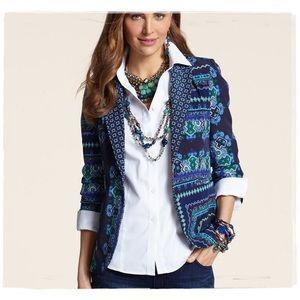 🆕 Listing!  Chico's | 'Veronica' Mix Print Jacket
